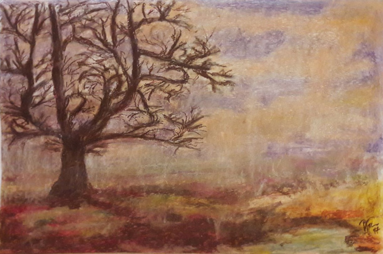 The Winter of time, pastel 50 x 70 cm, private collection