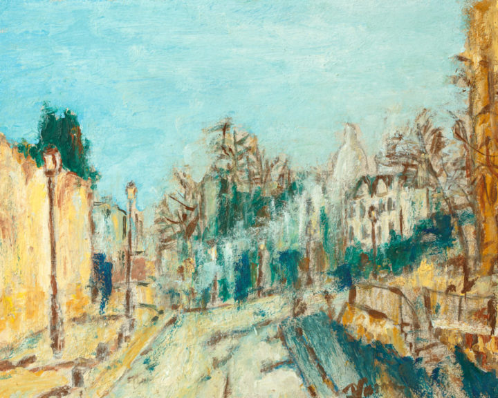 Montmartre 30x40 cm oil on cardboard
